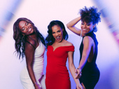 LaChanze, Storm Lever and Ariana DeBose play Diva Donna, Duckling Donna and Disco Donna