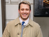 Once On This Island director Michael Arden arrives.