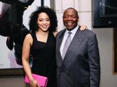 Spongebob Squarepants's Lilli Cooper and her father, Tony winner Chuck Cooper, prove talent runs in the family.