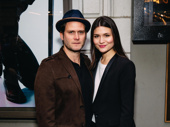 Broadway power couple Steven Pasquale and Phillipa Soo are on the scene.