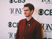 Angels in America's Andrew Garfield has arrived.