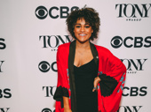 Disco Donna! Summer Tony nominee Ariana DeBose strikes a pose.