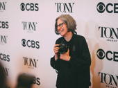 Special Tony nominee and The New York Times culture photographer Sara Krulwich hits the red carpet with her camera.