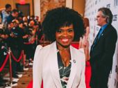 Summer Tony nominee LaChanze has arrived.