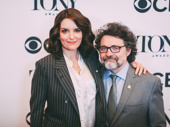 Tony-nominated Mean Girls couple Tina Fey and Jeff Richmond hit the red carpet.