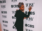 The trick to finding platform 9 3/4 is to run straight at the wall, dear! Of course, Harry Potter and the Cursed Child Tony nominee Noma Dumezweni knows.