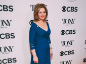 Carousel Tony nominee Renée Fleming hits the red carpet.