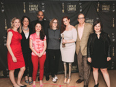The Cost of Living, cast and creative pictured here, tied for the Lortel Award with School Girls; or, the African Mean Girls Play.
