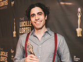 The Lucky Ones' Damon Daunno won for Outstanding Lead Actor in a Musical.