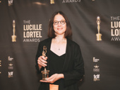 Lighting designer Louisa Thompson won for her work on In the Blood.