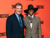 Tony winner Billy Porter strikes a pose with the evening's honoree, Stephen Sherrill, who has served as the Second Stage Board Chairman for 34 years.
