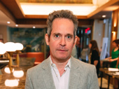 Tom Hollander leads the London transfer Travesties, which garnered him a nomination.