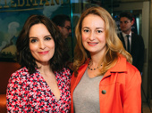 Mean Girls bookwriter and lyricist Tina Fey and Nell Benjamin get together.
