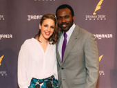 Nominees Jessie Mueller and Joshua Henry star opposite each other in Carousel.