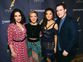 Mean Girls scribe Tina Fey and cast members Kate Rockwell, Ashley Park and Grey Henson are all nominated for their work in the fetch production.