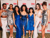 Summer's ladies sure know how to work a red carpet! Wonu Ogunfowora, Kim Steele, Anissa Felix, Tony nominee Ariana DeBose, Storm Lever, Mackenzie Bell and Afra Hines strike a pose.