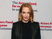 The Parisian Woman star Uma Thurman is one of four who received the Actor's Fund Medal of Honor.
