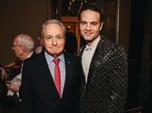 Mean Girls producer (and SNL legend) Lorne Michaels with Jujamcyn honcho Jordan Roth.