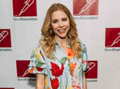 Mean Girls favorite Kerry Butler keeps thing colorful on the red carpet.