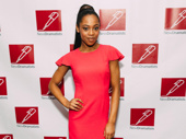 Once On This Island Tony nominee Hailey Kilgore attends the New Dramatists' luncheon.