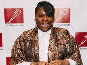 Once On This Island standout Alex Newell has arrived.