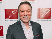 Saint Joan's Patrick Page flashes a smile.