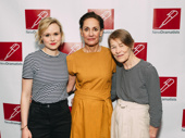 Three Tall Women's Alison Pill, Laurie Metcalf and Glenda Jackson take a group shot.