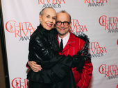 Carmen De Lavallade, pictured here with Joel Grey, received the second annual Lifetime Achievement Award.