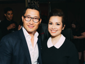 Daniel Dae Kim and Lea Salonga get together.
