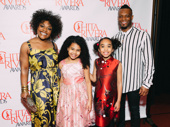 Chita nominee Kenita R. Miller poses with Once on This Island costars Emerson Davis, Mia Williamson and Anthony Wayne.