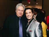 Harvey Fierstein and Chita nominee Christopher Gatelli have a Newsies reunion.