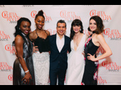 Chita winner and Summer choreographer Sergio Trujillo is flanked by Summer ensemble members Wonu Ohunfowora, Jenny Laroche, Kathrine Roarty and Mackenzie Bell.
