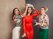 Mean Girls pals Erika Henningsen, Barrett Wilbert Weed and Taylor Louderman won five awards between the three of them. Fetch, indeed!