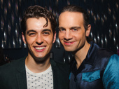 Mean Girls' Kyle Selig and producer Jordan Roth are all smiles for the show taking home eight awards!
