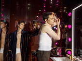 Matt Bomer as Donald and Jim Parsons as Michael in The Boys in the Band.