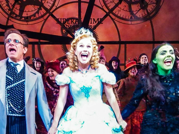 Get a Gravity-Defying Look at the Wicked Cast with a 360-Degree Photo