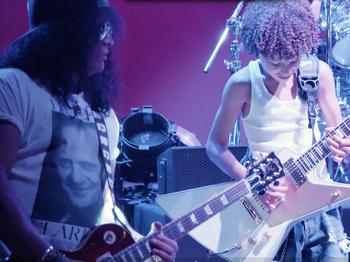 Welcome to the Jungle Gym! Guns 'N Roses' Slash Joins School of Rock's Kids for a Jam Sesh