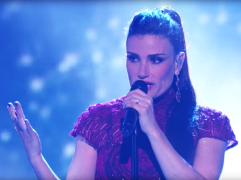 Idina Menzel, Mark Ballas & Leona Lewis Stop the Show on Dancing with the Stars