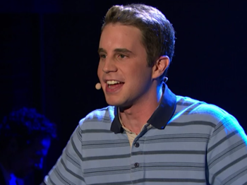 Watch Dear Evan Hansen's Ben Platt Live His 'Theater Nerd' Dreams & Perform 'Waving Through a Window'