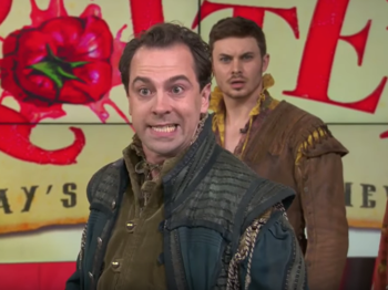 Watch Rob McClure, Josh Grisetti & the Touring Cast of Something Rotten! Perform 'God, I Hate Shakespeare'
