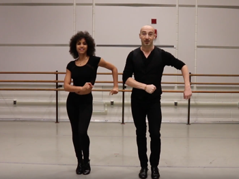 Feel the Heat! Watch the On Your Feet! Tour Dance Captains Teach You How to Conga