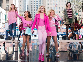 Tina Fey's Mean Girls Offer Up a Today Show Performance That Is Totally Fetch