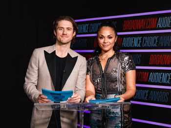 Aaron Tveit and Karen Olivo Announce the 2018 Broadway.com Audience Choice Awards Nominations