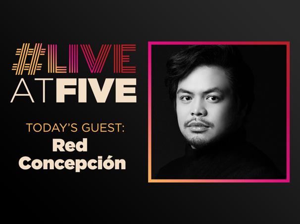 Broadway.com #LiveatFive with Red Concepcion of the Miss Saigon National Tour