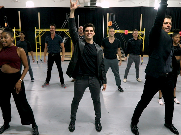 You're Gonna Like It! Watch Joey Barreiro & the Cast of A Bronx Tale Tour Doo-Wop in Rehearsal