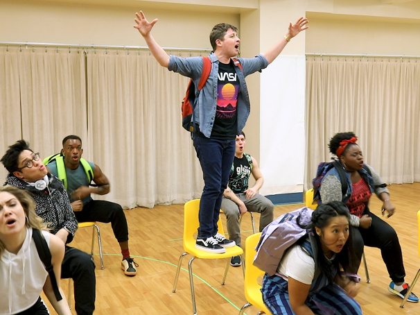 Watch Will Roland, George Salazar and the Cast of Be More Chill Perform Songs Ahead of the Show's Broadway Bow