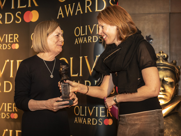 Old Vic's Vivien Wallace Among 2019 Olivier Award Special Recognition Recipients