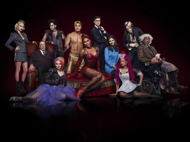 Shiver with Anticipation! See the New Rocky Horror Picture Show Stars All Decked Out Doing the 'Time Warp'