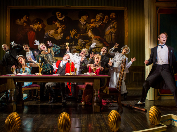 The touring company of A Gentleman's Guide to Love & Murder