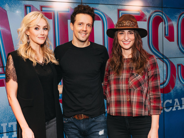 Get a Taste of Jason Mraz and Betsy Wolfe in Sara Bareilles' Waitress